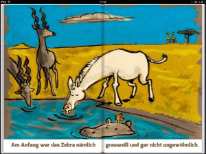 Woher das Zebra Streifen hat - Screenshot