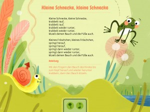 Wickelbär & Schmusespatz - Bewegungsspiele & Wickelreime - Screenshot
